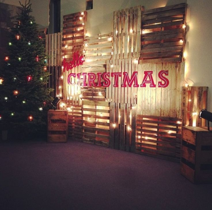 This is sooo cooollll | Church christmas decorations ...