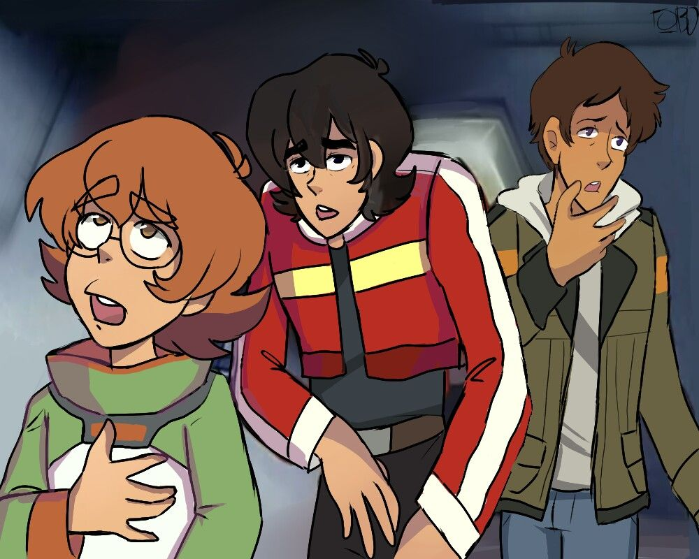 by @boxidot on tumblr - screencap redraw using Voltron: Defender of the Universe for reference -