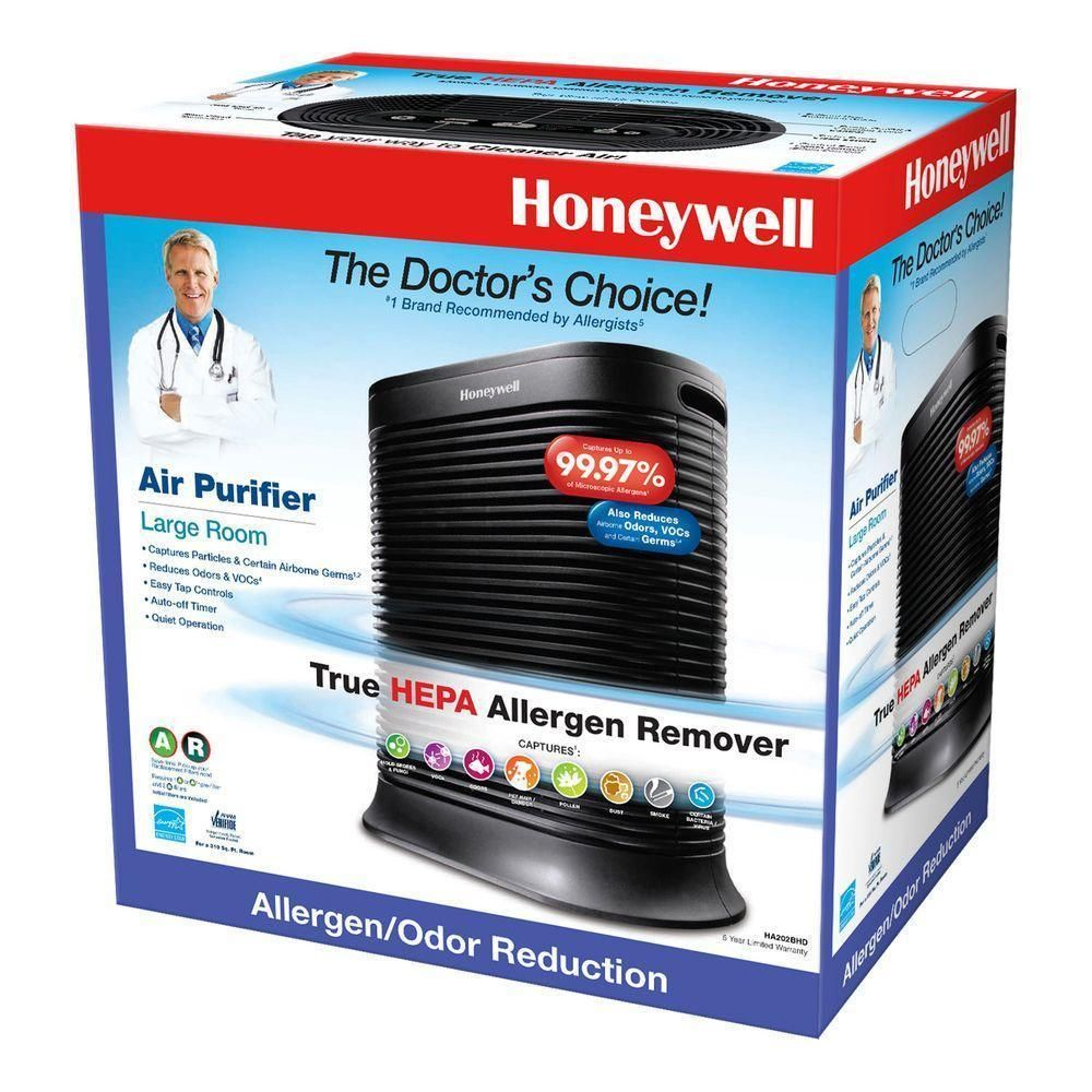 THEPA Allergen Remover Air Purifier 310 sq ft Germ Turbo