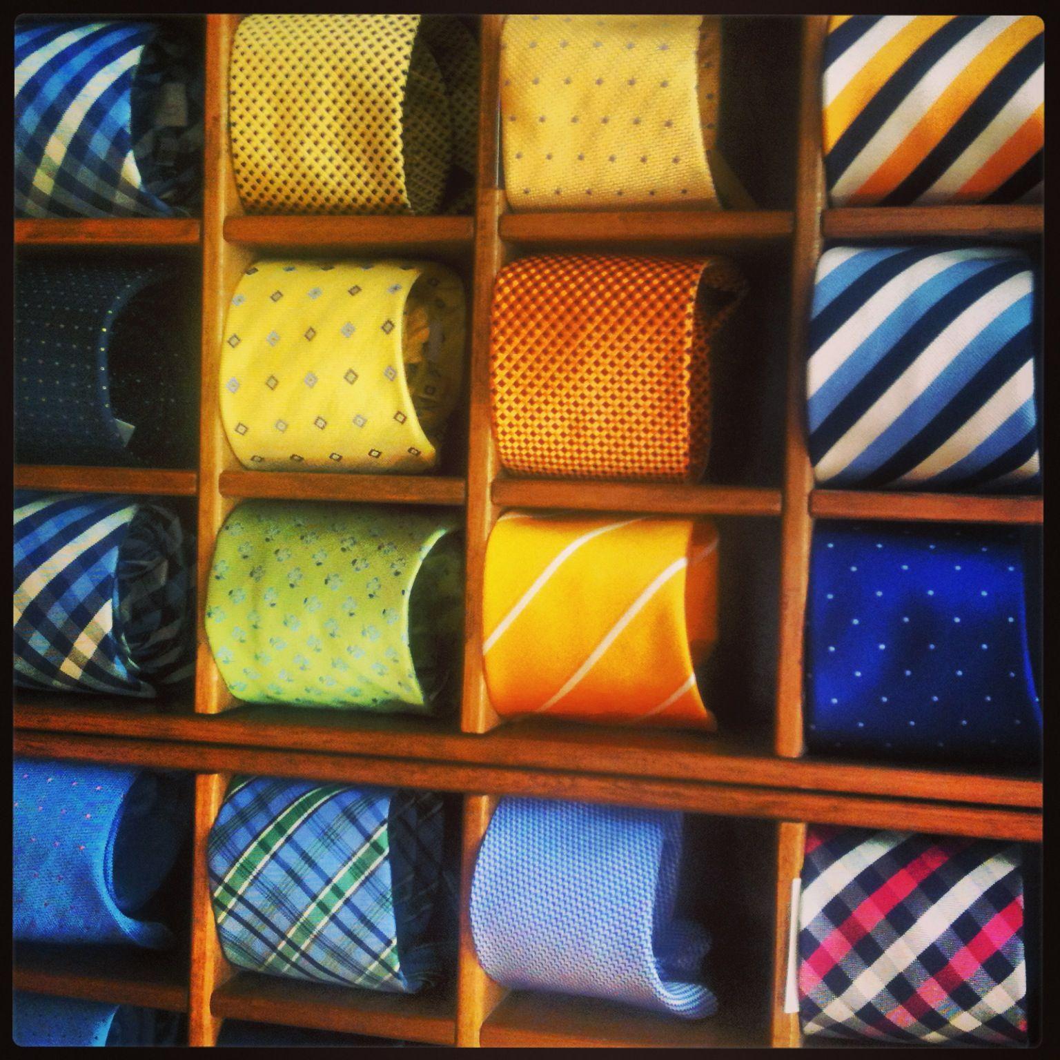 Silk ties!