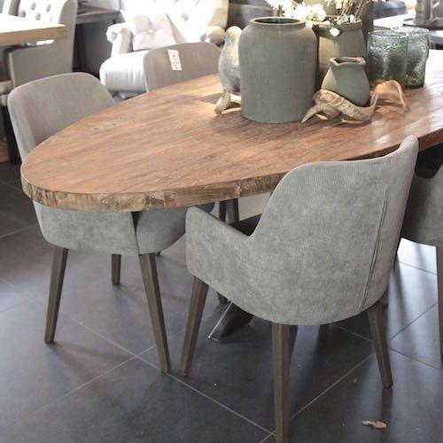 stoel ronde rug eetkamerstoel modern pinterest
