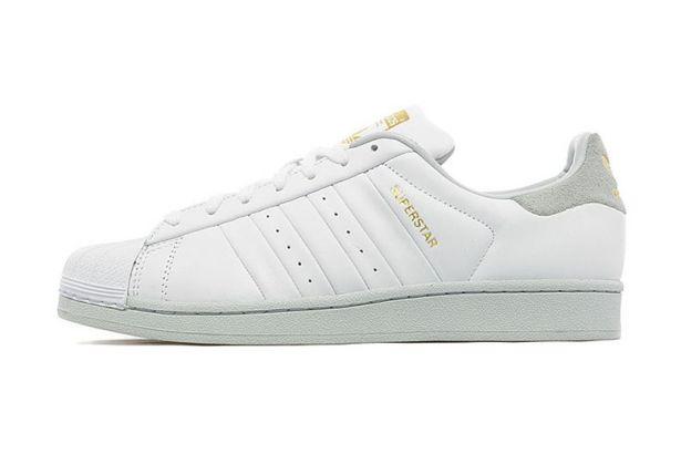 adidas superstar blancas y grises