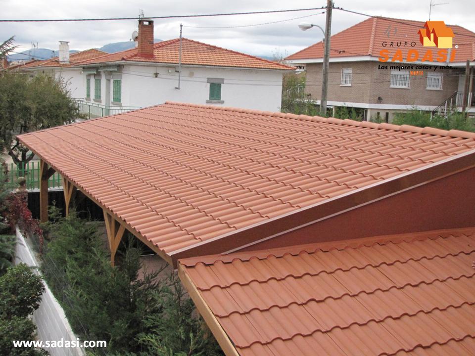 Hogar las mejores casas de m xico los tejados de for Plastico para tejados