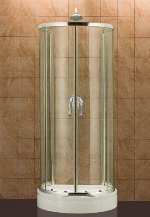 Corner Square Shower | de-lune.com | shower | Pinterest | Squares