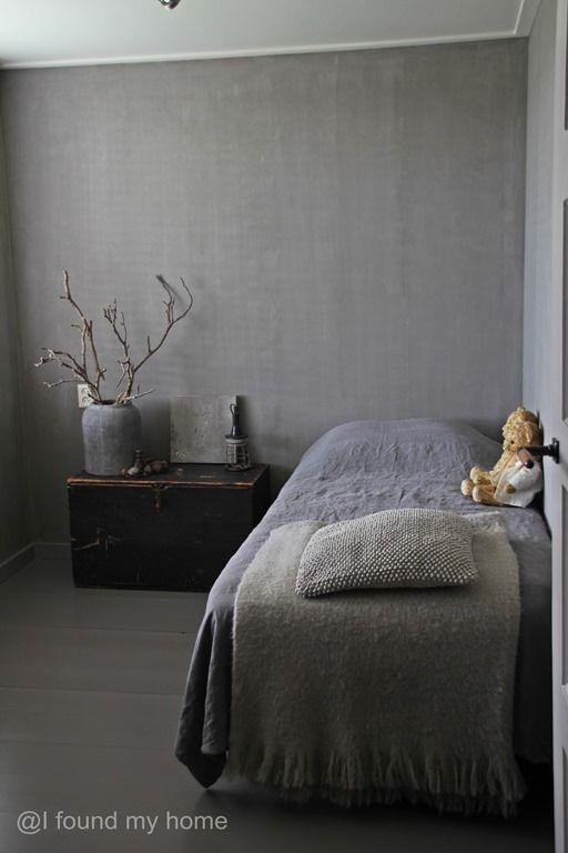 mooie kleur muur voor slaapkamer | belgian and dutch interiors ...