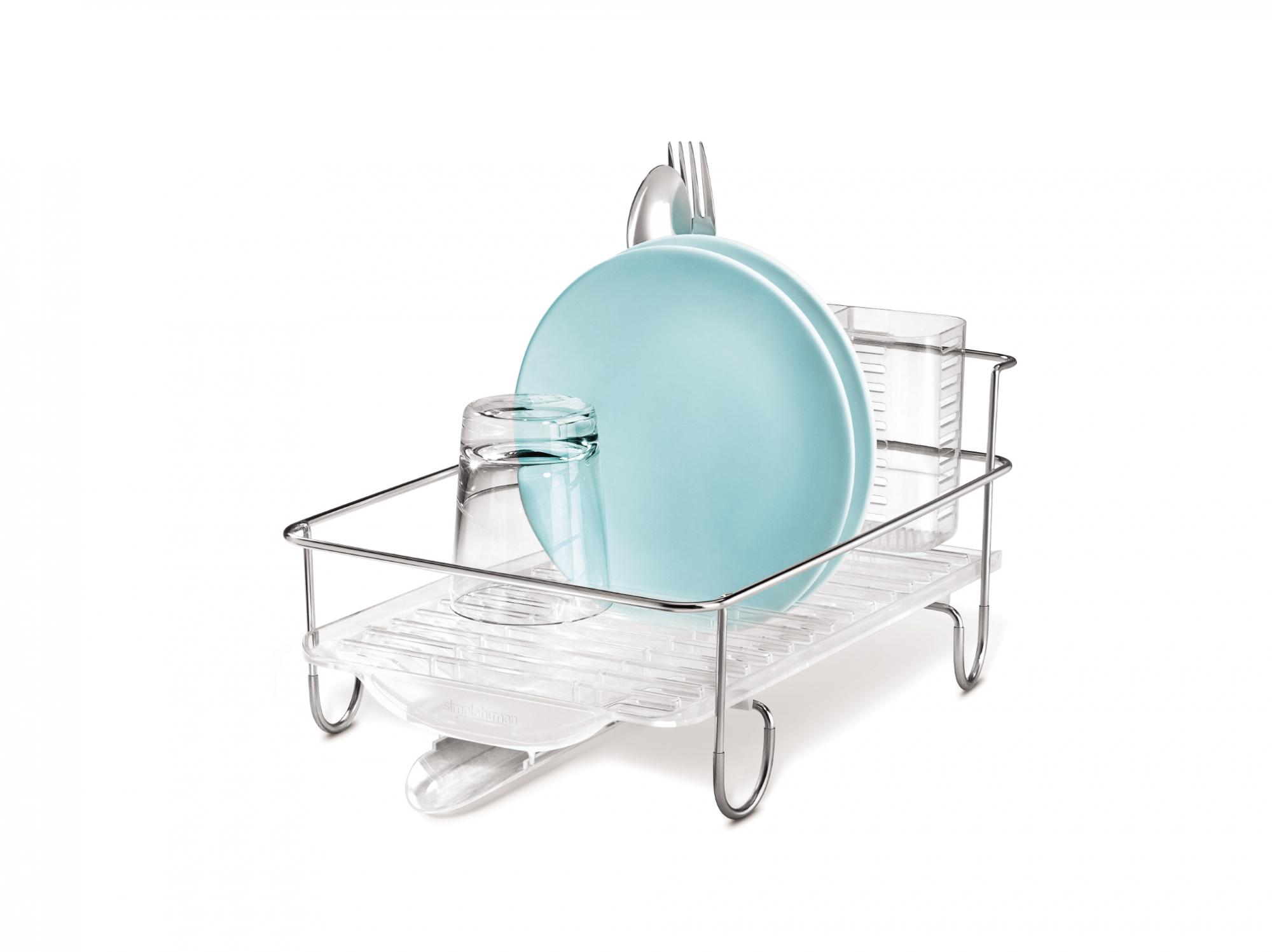 Best Dish Drainer Compact Simplehuman Deco Salon Zlew Kuchnia 400 x 300