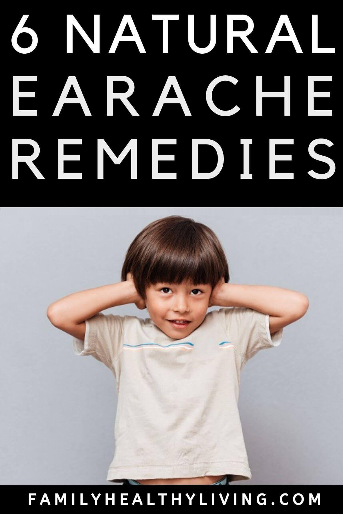 Home Remedy For Ear Ache Ear infection remedy, Earache
