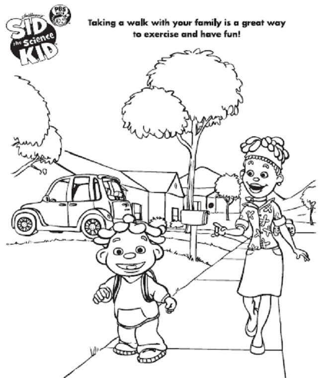 sid the science kid coloring pages | coloring Pages | Pinterest