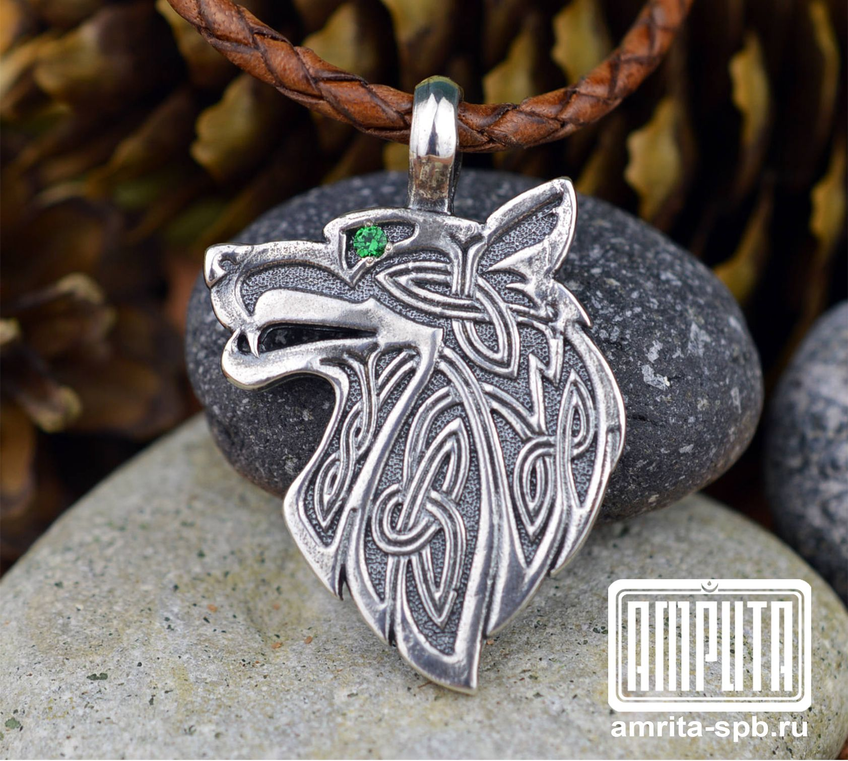 celtic wolf wolfnecklace warrior necklace amulet unisex pendant fenrir celticwolf pin wolffenrir