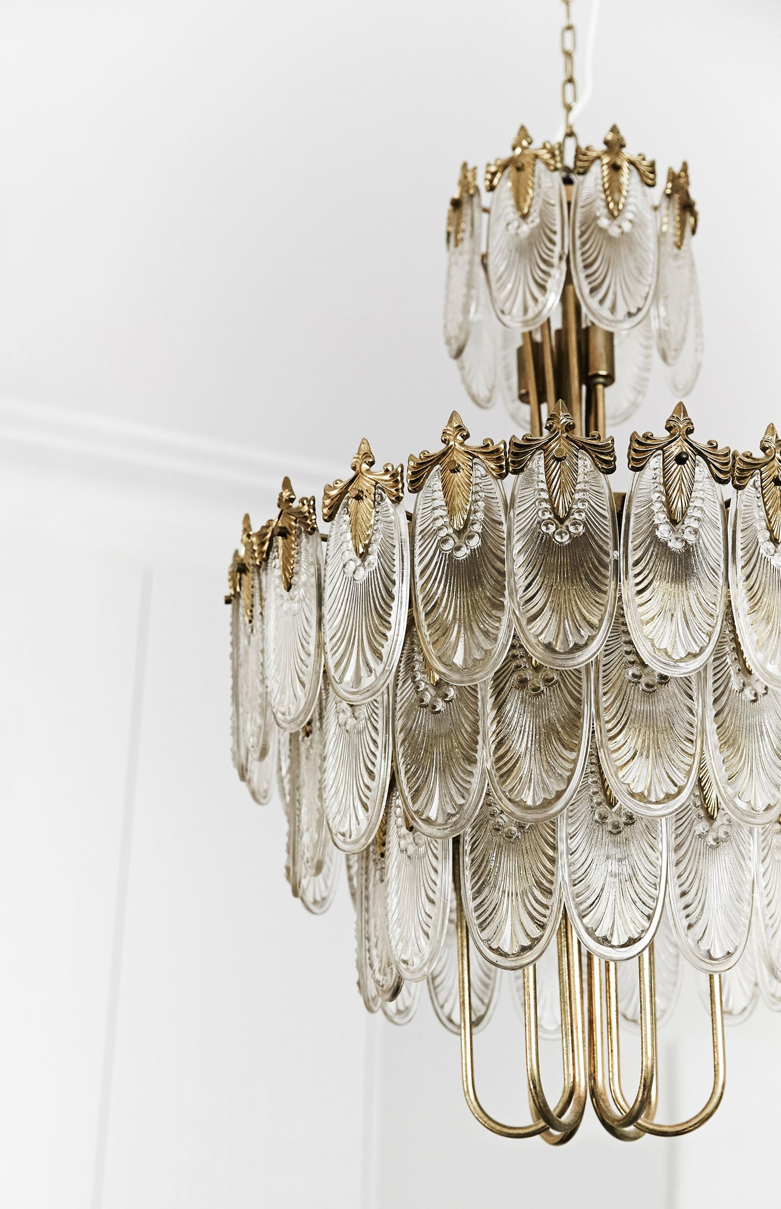 A Japanese Art Deco chandelier A Fashionable