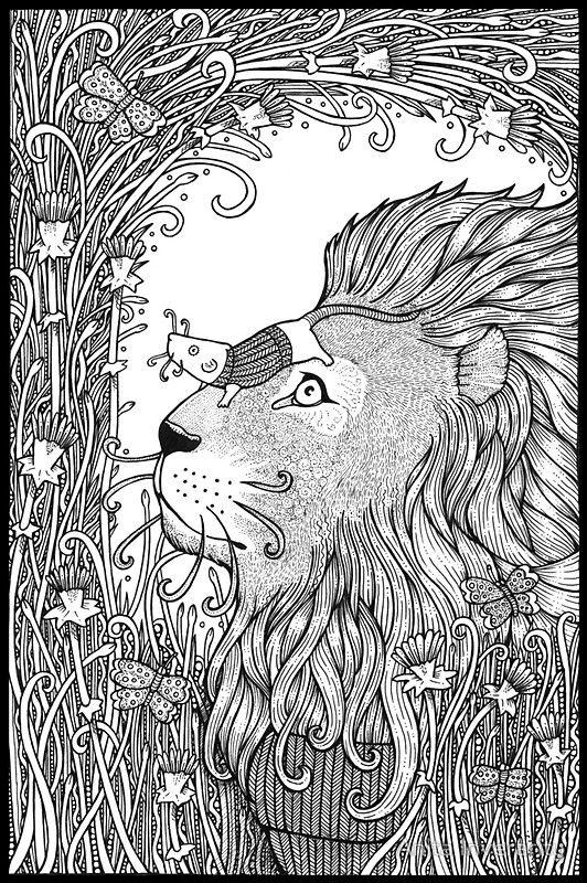 The Lion And The Mouse By Anita Inverarity On Redbubble Rato