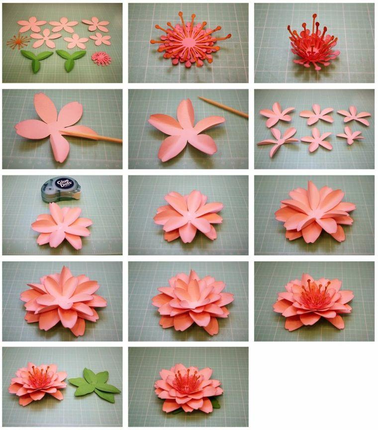Flores De Papel Para Decorar El Interior De Vuestra Casa Decorando