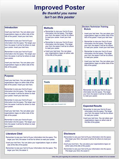 Scientific Poster Design And Layout Fonts Colors Contrasts Screen Vs Print Makesigns Scientific Poster Scientific Poster Design Flyer And Poster Design