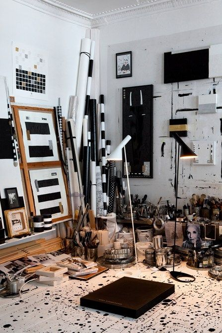 Bildergebnis Für Künstleratelier Einrichten | Atelier | Pinterest