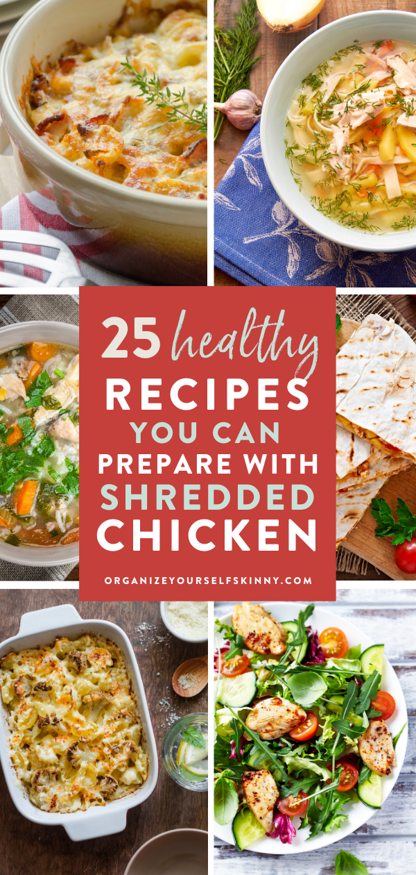 Healthy Recipes You Can Prepare Using Shredded Chicken In 2020 Clean Dinner Recipes Healthy Dinner Quick Healthy Dinner Easy