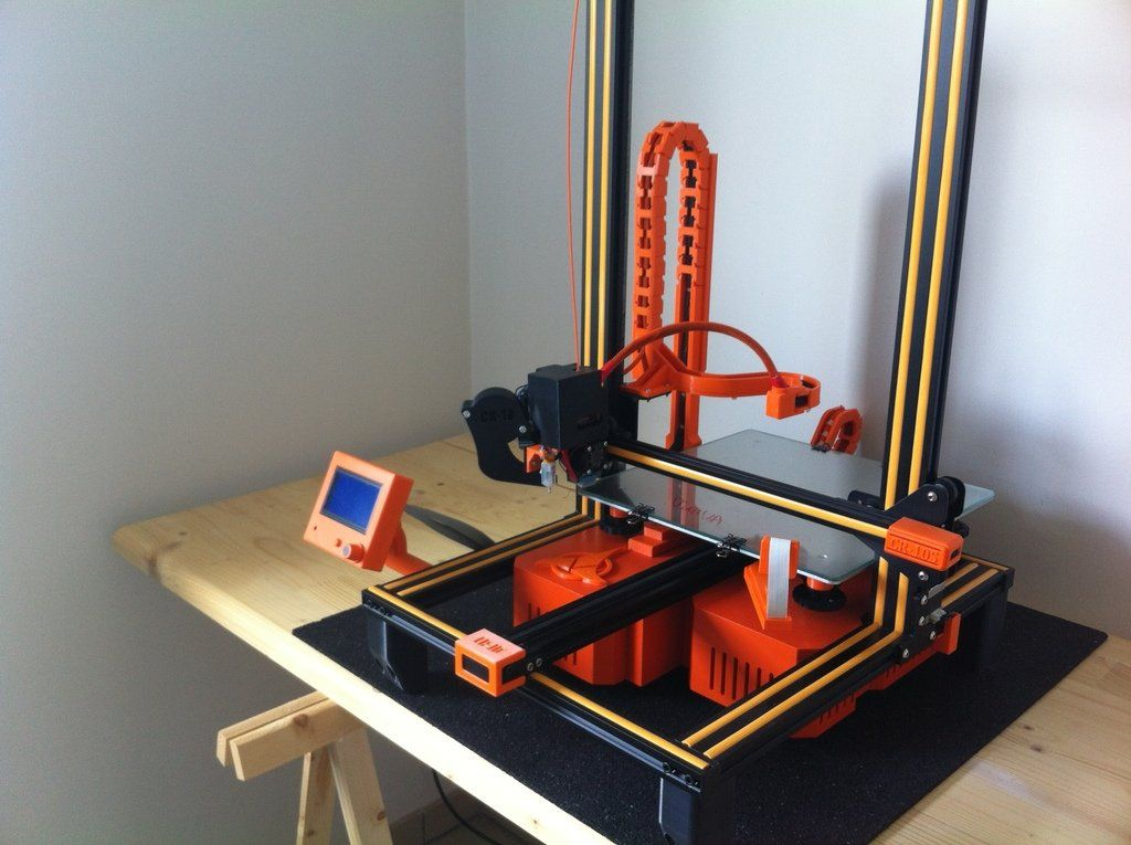 New Standalone Cr10 Cr10s Tornado En Etude By Razorbac Thingiverse 3d Printer Projects 3d Printer 3d Printing
