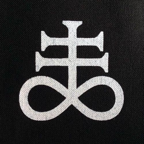Pentagram Ouroboros Major Arcana Tarot Patch Sulphur