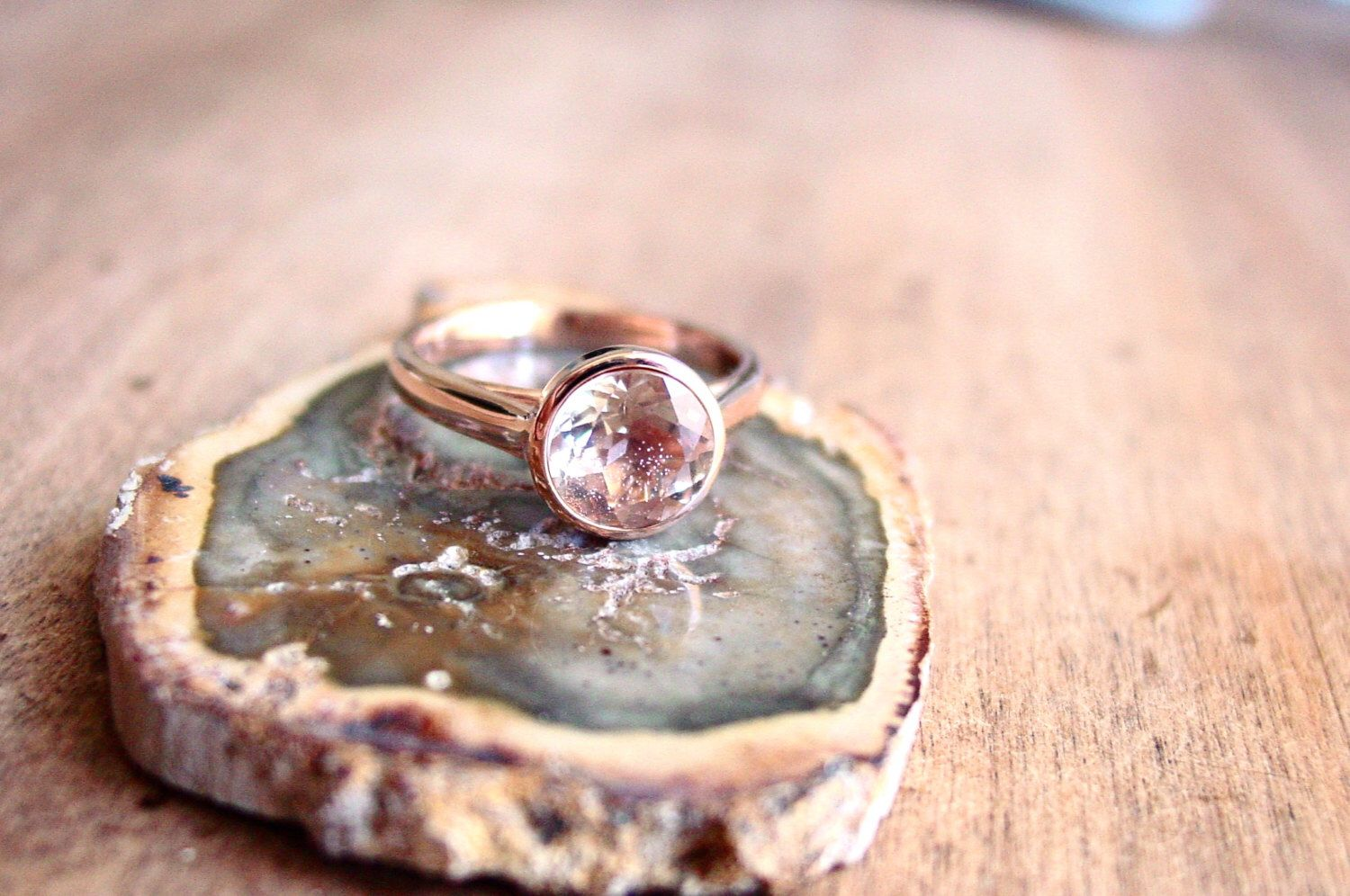 Sunstone Diamond 14k Rose Gold Engagement Ring Here Comes the Sun Select Your Stone by ResaWilkinson on Etsy https://www.etsy.com/listing/268162318/sunstone-diamond-14k-rose-gold
