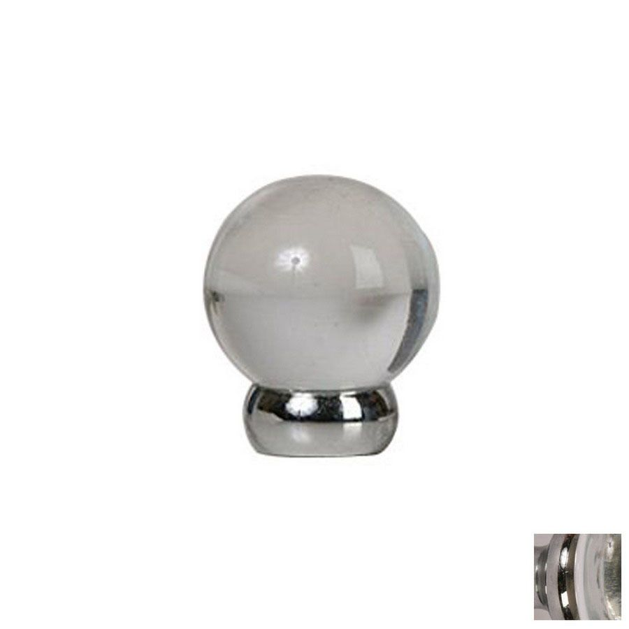 Shop Lew\'s Hardware 1-1/8-in Polished Chrome Glass Ball Series Globe ...