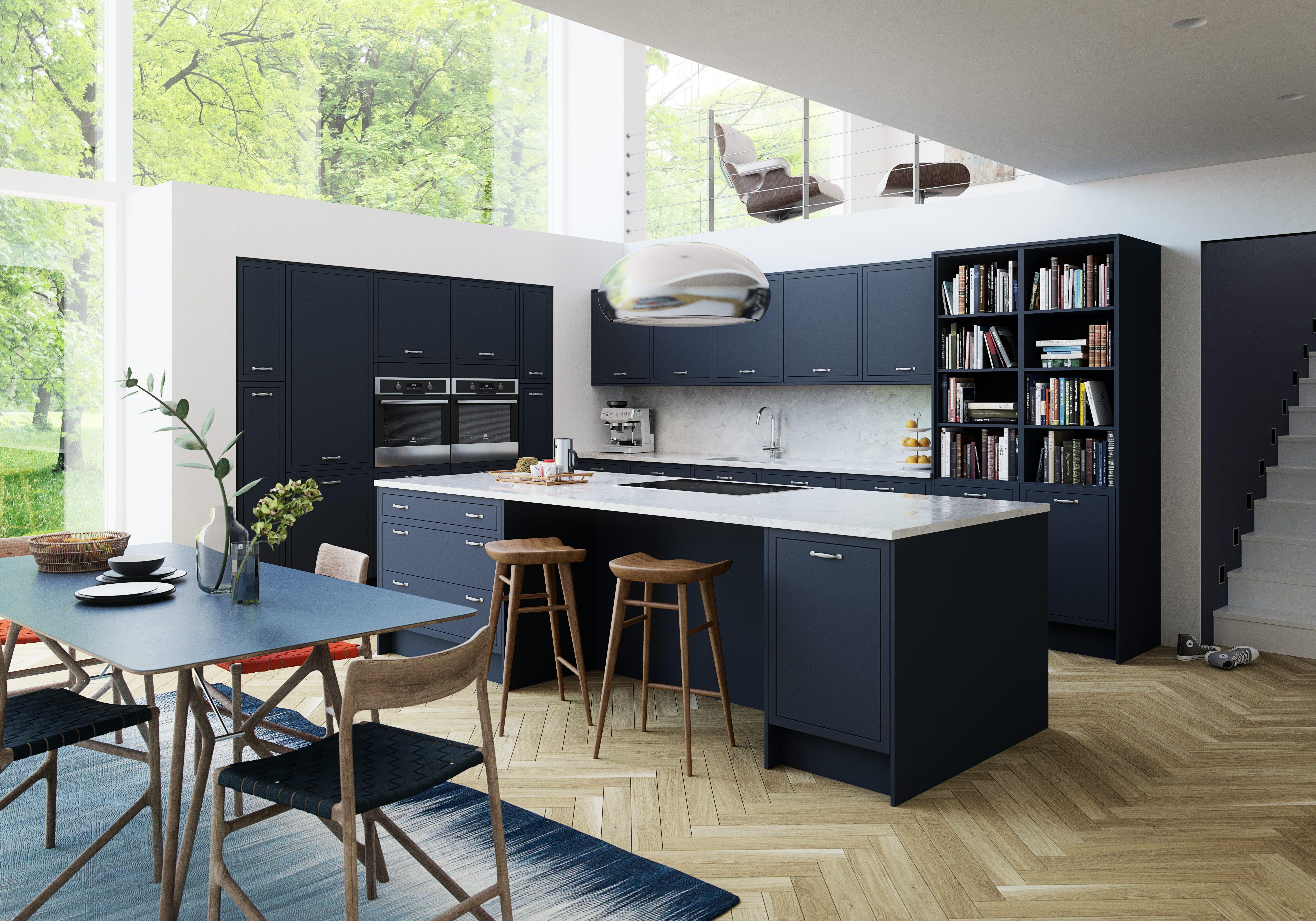 Newbury Midnight.jpg in 2020 Grey kitchens, Dark grey