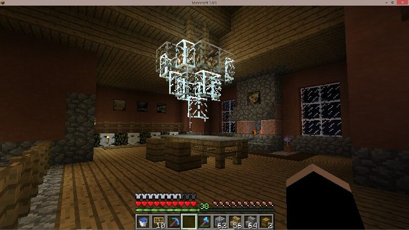 My Chandelier How To Make A, How To Make A Simple Chandelier In Minecraft Pe