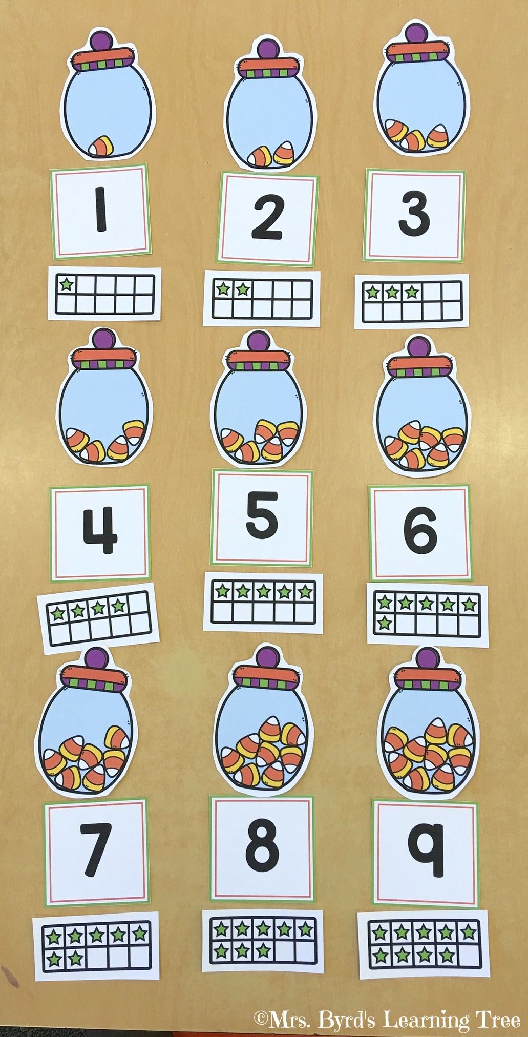 Kindergarten Math And Literacy Centers October