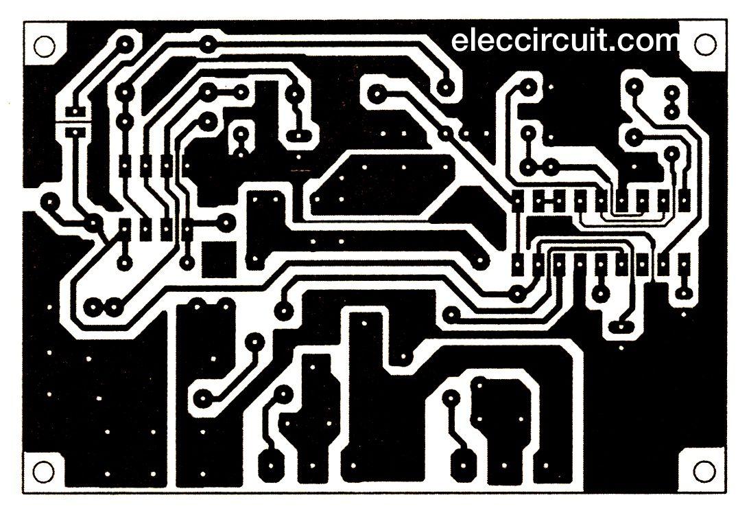 500w Power Inverter Circuit Using Sg3526 Irfp540 12 Volt Wiring Diagram Pcb Layout Of 200 Watts