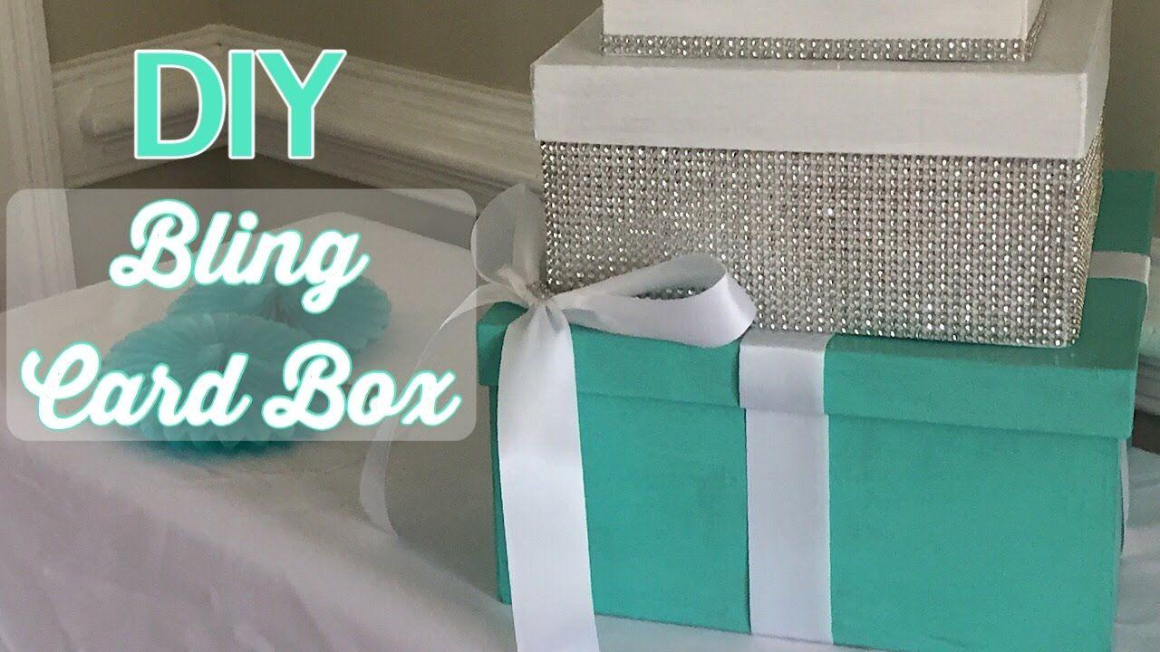 10 Top Diy Quince Card Box In 2021 Card Box Wedding Diy Baby Shower Card Box Diy Diy Card Box