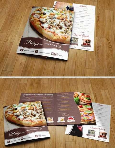 30 Desain Brosur Restoran Untuk Promosi Dan Marketing Desain Brosur Brosur Restoran
