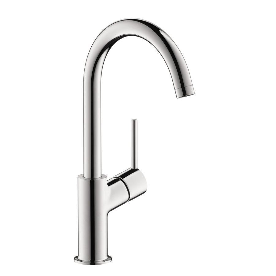 hansgrohe talis s chrome 1-handle single hole bathroom faucet ... - Hansgrohe Metris Küche