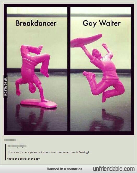 The power of the gays -  The power of the gays – 9GAG  - #9gagFunny #FunnyMemes #FunnyStuff #gays #MemesHumor #power