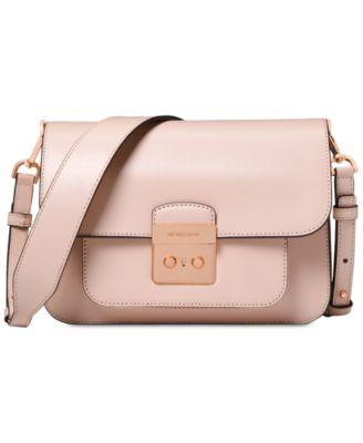 f3aad949c5bd Michael Michael Kors Sloan Editor Large Shoulder Bag - Black Gold ...