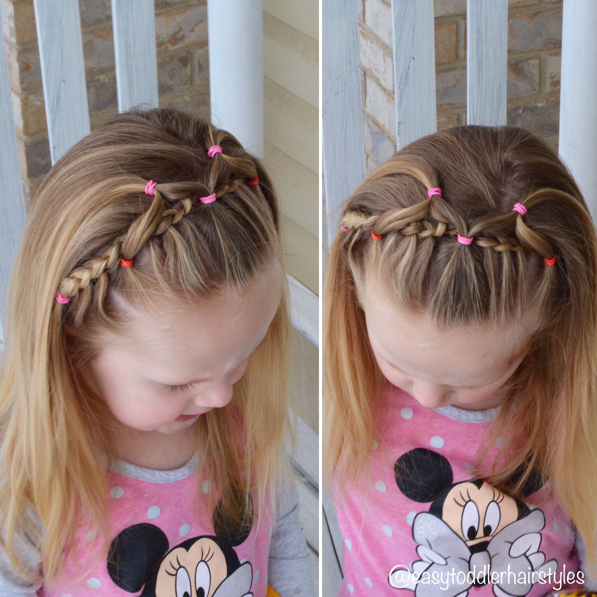 Toddler Hairstyles Cute Braided Toddler Hairstyle  Girls Hairstyle Ideas  Pinterest