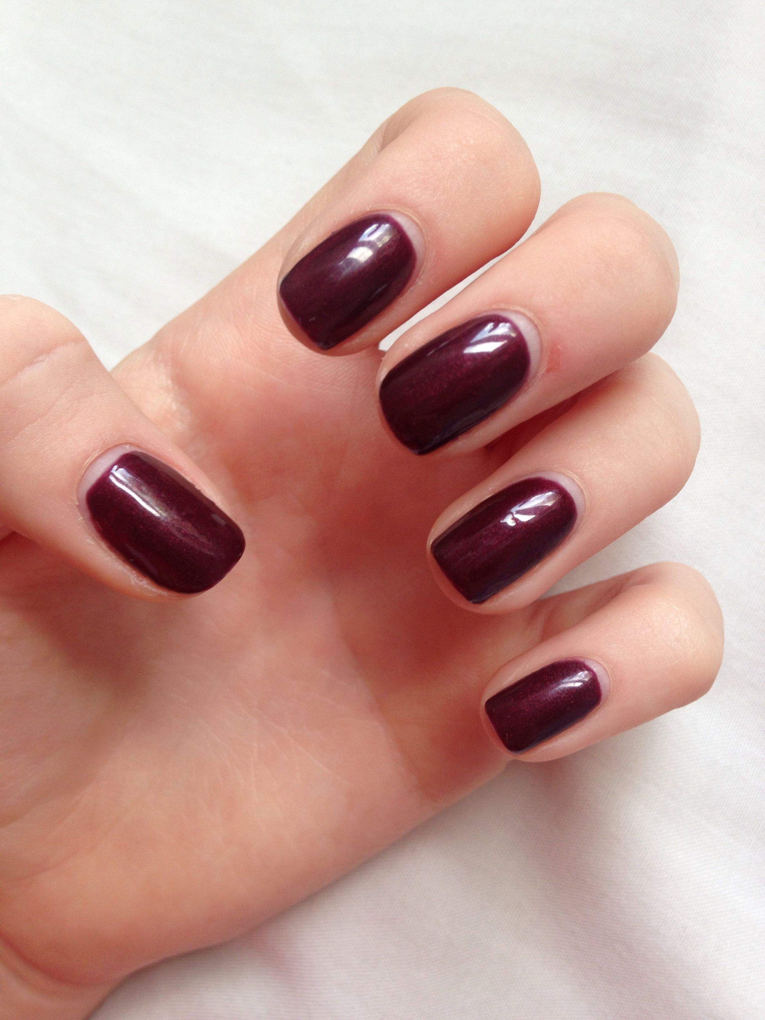 Dark Lava Bluesky Gel Nails Product Is Average But Tends To Chip Quickly In 2019 Bluesky
