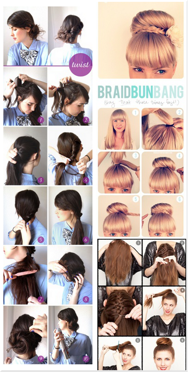 Nails And Stuff Easy Last Minute Hair Does Beautiful Hair Hair