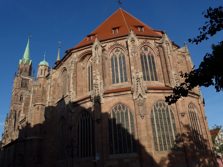 Fresh St Lurenz Church Nuremberg Germany