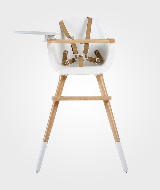 Micuna Ovo Plus Highchair Natural White Multi High Chair Chair Wooden High Chairs