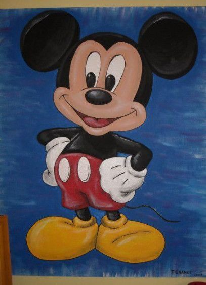Gemalde Disney Leinwande Mickey Mouse 53 Best Ideas Tuval