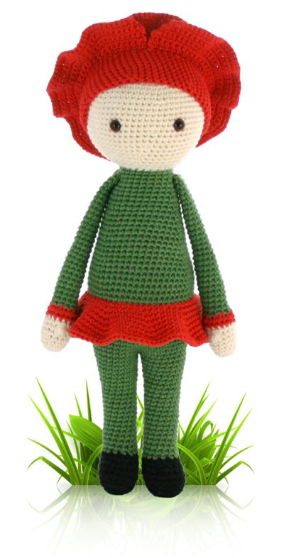 Poppy Paola - flower doll crochet pattern | Muñecos en crochet ...