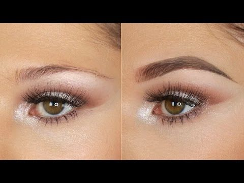 Eyebrow Tutorial using the Inglot Brow Gel Liners | Brianna SA Pro Team - YouTube #eyebrowstutorial