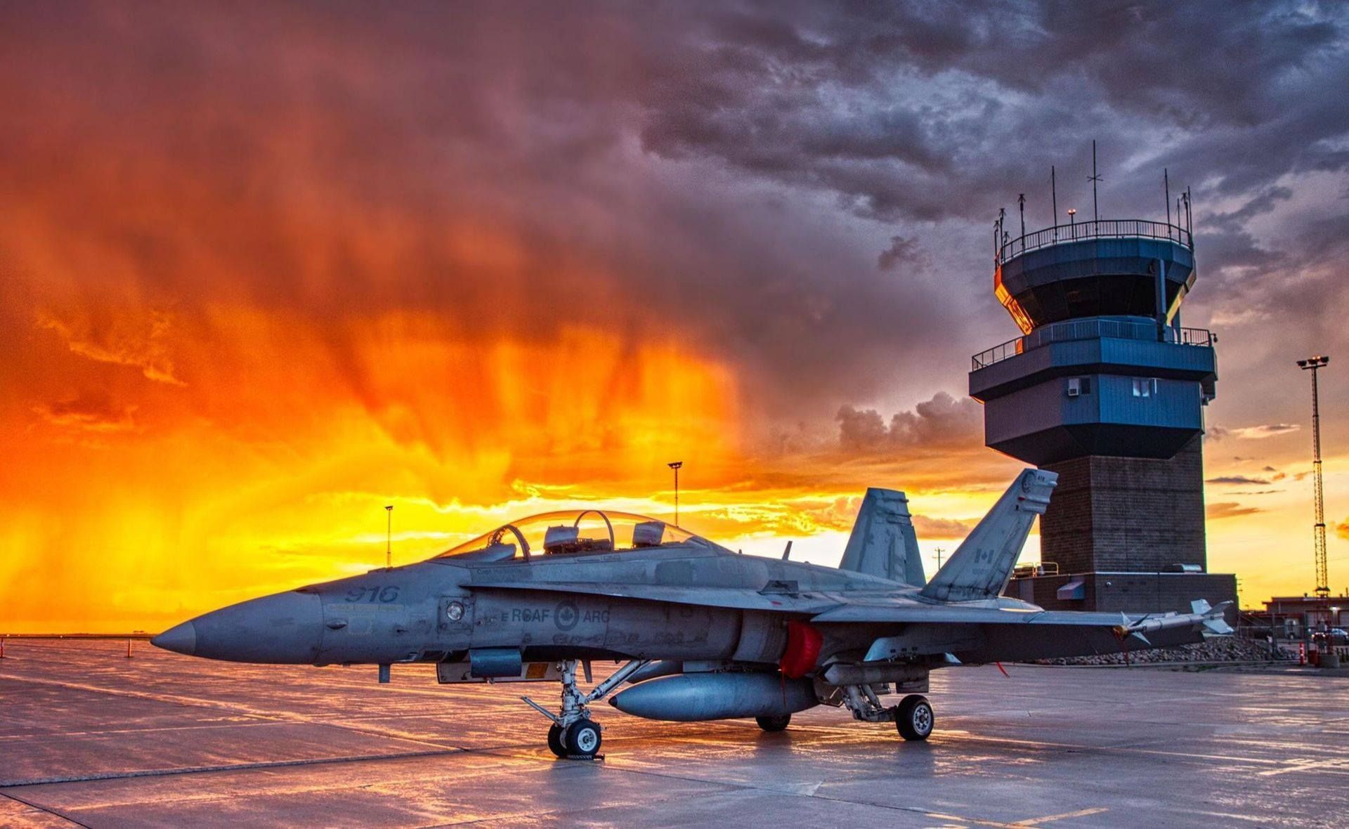 Military Aircraft — Canadian Forces CF18 Demo Team in 2020