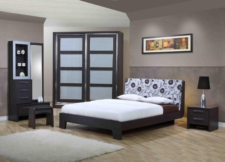 colori pareti camera da letto-due-sfumature-grigio | Idee ...