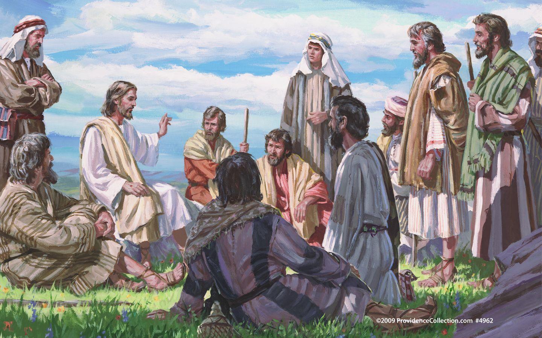 John Steele Jesus And His Disciples