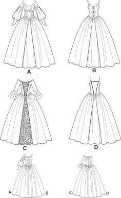 Resultado De Imagem Para Vestido De Prenda Desenho