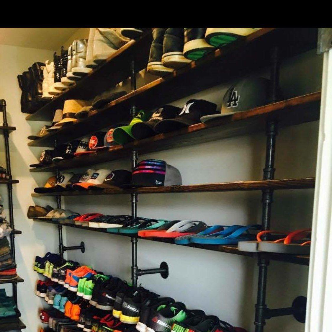 Shoe Rack Industrial Shelf Industrial Rack Shoe Organizer Clothes Rack Closet Organizer Garment Rack Store Shelves Shoe Rack Wakeboarding Surfing