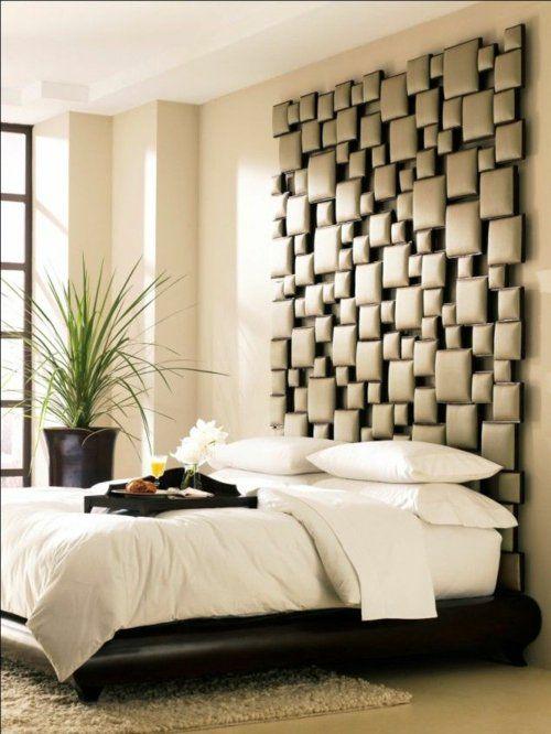 Hochwertig Schlafzimmer Wandgestaltung   Kreative Ideen Als Inspiration