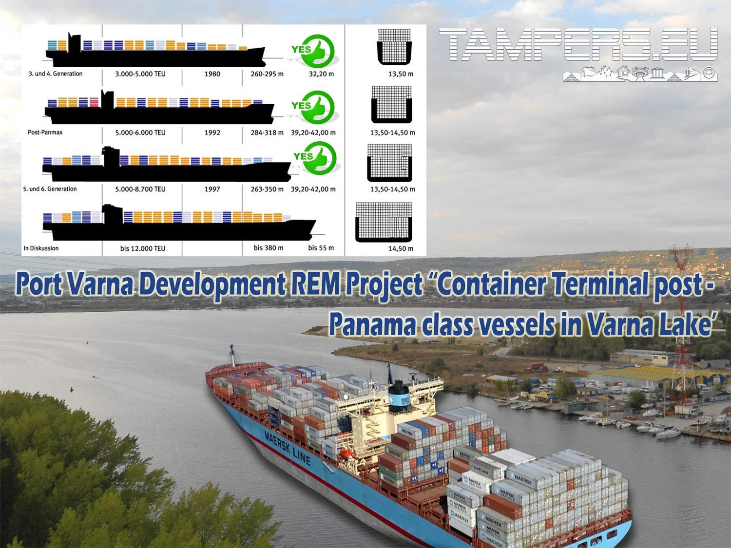 Port Varna Development Rem Project 2 Container Terminal Post