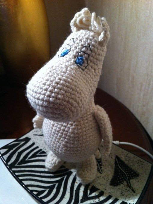 Amigurumi Moomintroll – FREE PATTERN woo yeah, free! | Ganchillo ...