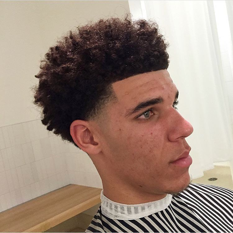 Lonzo Ball Pre Draft Cut Haircuts Pinterest Haircuts