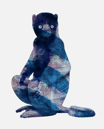Lemur I Art Print